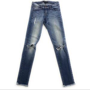 Flying Monkey Low Rise Skinny Jeans, Size 25